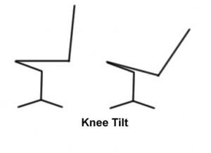 knee tilt